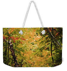 Weekender Tote Bag featuring the photograph Nature In Oil  by Deniece Platt
