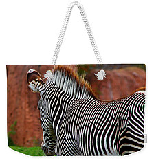 Nature's Barcode Weekender Tote Bag by Davandra Cribbie