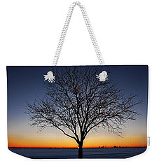 Nature's Light Weekender Tote Bag