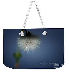 Weekender Tote Bag featuring the photograph Nature's Street Lighting by Vicki Ferrari