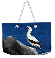 Nazca Booby Weekender Tote Bag by Tony Beck