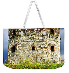 Nebojsa Tower In Belgrade Weekender Tote Bag by Elena Elisseeva
