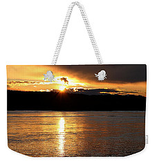 Weekender Tote Bag featuring the photograph Nebraska Sunset by Elizabeth Winter