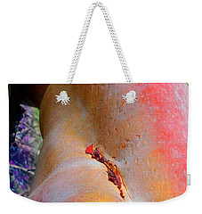 Weekender Tote Bag featuring the digital art Nectar by Richard Laeton