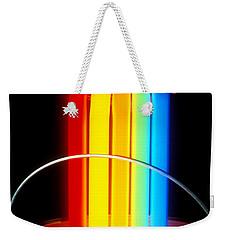 Neon Paintbrush Weekender Tote Bag
