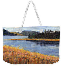 Nestucca River And Bay  Weekender Tote Bag