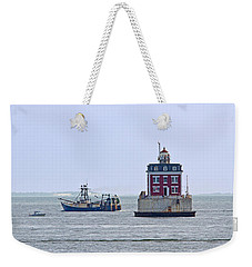New London Ledge Lighthouse. Weekender Tote Bag