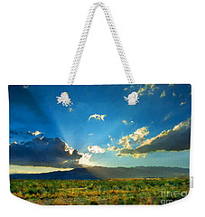 New Mexico Desert Weekender Tote Bag by Betty LaRue