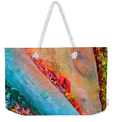 Weekender Tote Bag featuring the digital art New Way by Richard Laeton