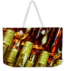 Weekender Tote Bag featuring the photograph New Wine by Lainie Wrightson