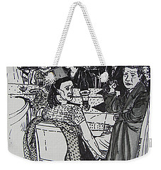 New Year's Eve 1950's Weekender Tote Bag