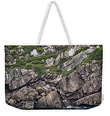 Weekender Tote Bag featuring the photograph Newfoundland Fishing Boat by Verena Matthew