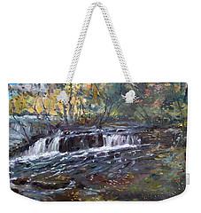 Niagara Falls River Weekender Tote Bag