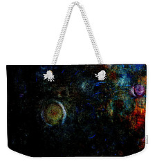 Weekender Tote Bag featuring the painting Night Watch  by Tom Roderick
