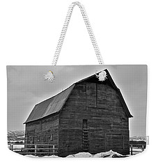 Weekender Tote Bag featuring the photograph Noble Barn by Eric Tressler