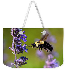 Non Stop Flight To Pollination Weekender Tote Bag