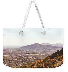 North Caolina Pilot Mountains Weekender Tote Bag