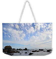 Weekender Tote Bag featuring the photograph Northern California Coast1 by Zawhaus Photography