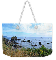 Weekender Tote Bag featuring the photograph Northern California Coast2 by Zawhaus Photography