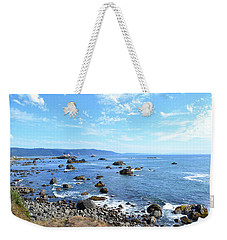 Weekender Tote Bag featuring the photograph Northern California Coast3 by Zawhaus Photography