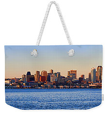 Northwest Jewel - Seattle Skyline Cityscape Weekender Tote Bag