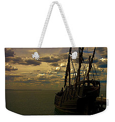 Notorious The Pirate Ship Weekender Tote Bag