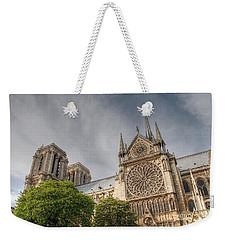 Weekender Tote Bag featuring the photograph Notre Dame De Paris by Jennifer Ancker
