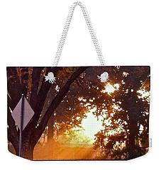 November Sunrise Weekender Tote Bag by Bill Owen