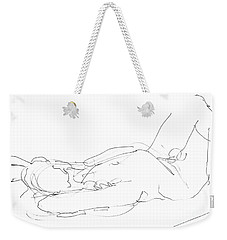 Nude-male-drawings-12 Weekender Tote Bag