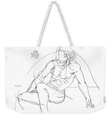 Nude-male-drawings-13 Weekender Tote Bag