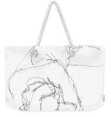Nude Male Drawings 7 Weekender Tote Bag