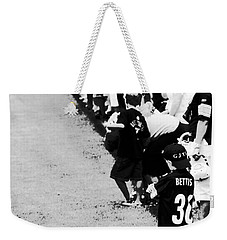 Number 1 Bettis Fan - Black And White Weekender Tote Bag