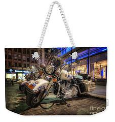 Nypd Bikes Weekender Tote Bag