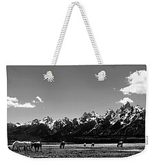 Weekender Tote Bag featuring the photograph Oblivious by Dan Wells