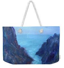 Ocean Chasm Weekender Tote Bag