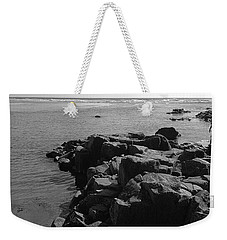 Weekender Tote Bag featuring the photograph Oceanside Beach by Chriss Pagani