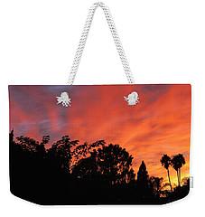 October Sunset 10 Weekender Tote Bag