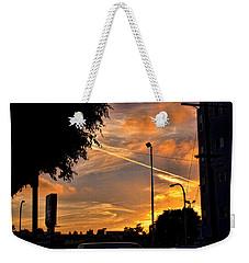 October Sunset 6 Weekender Tote Bag