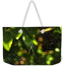 Oh The Web We Weave Weekender Tote Bag