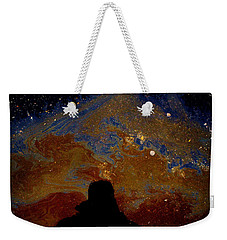 Oil On Pavement Visionary Weekender Tote Bag