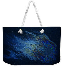 Oil On Pavement Wishcraft Weekender Tote Bag by Todd Breitling