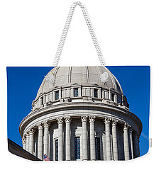 Oklahoma State Capitol Dome Weekender Tote Bag by Doug Long