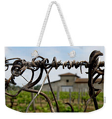 Weekender Tote Bag featuring the photograph Old And New  by Lainie Wrightson