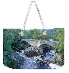 Old Bridge At Invermoriston Weekender Tote Bag
