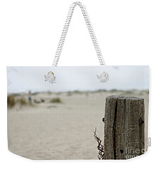 Old Fence Pole Weekender Tote Bag