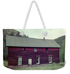 Weekender Tote Bag featuring the photograph Old Hotel by Bonfire Photography