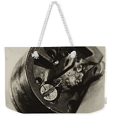 Old Plug  Weekender Tote Bag by Wilma  Birdwell