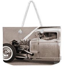 Old School Pick-up Weekender Tote Bag