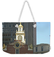 Old South Meeting House Weekender Tote Bag by Bruce Carpenter