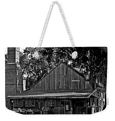 Weekender Tote Bag featuring the photograph Old Spanish Sugar Mill by DigiArt Diaries by Vicky B Fuller